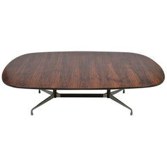Eames 8 Foot Rosewood Dining Table by Herman Miller