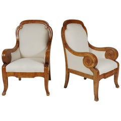 Pair of Large Scale 19th Century Swedish Bergères