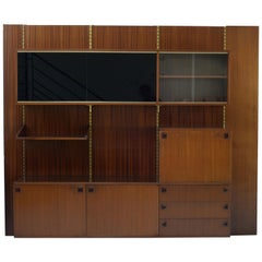 Midcentury Wall Shelving System by André Monpoix