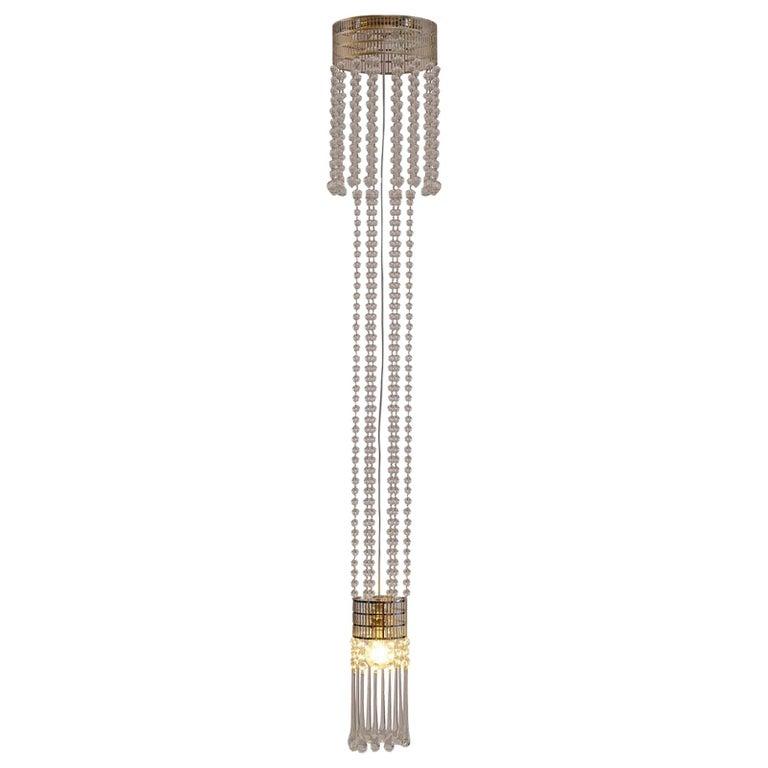Koloman Moser Jugendstil Ceiling Lamp Re-Edition  For Sale
