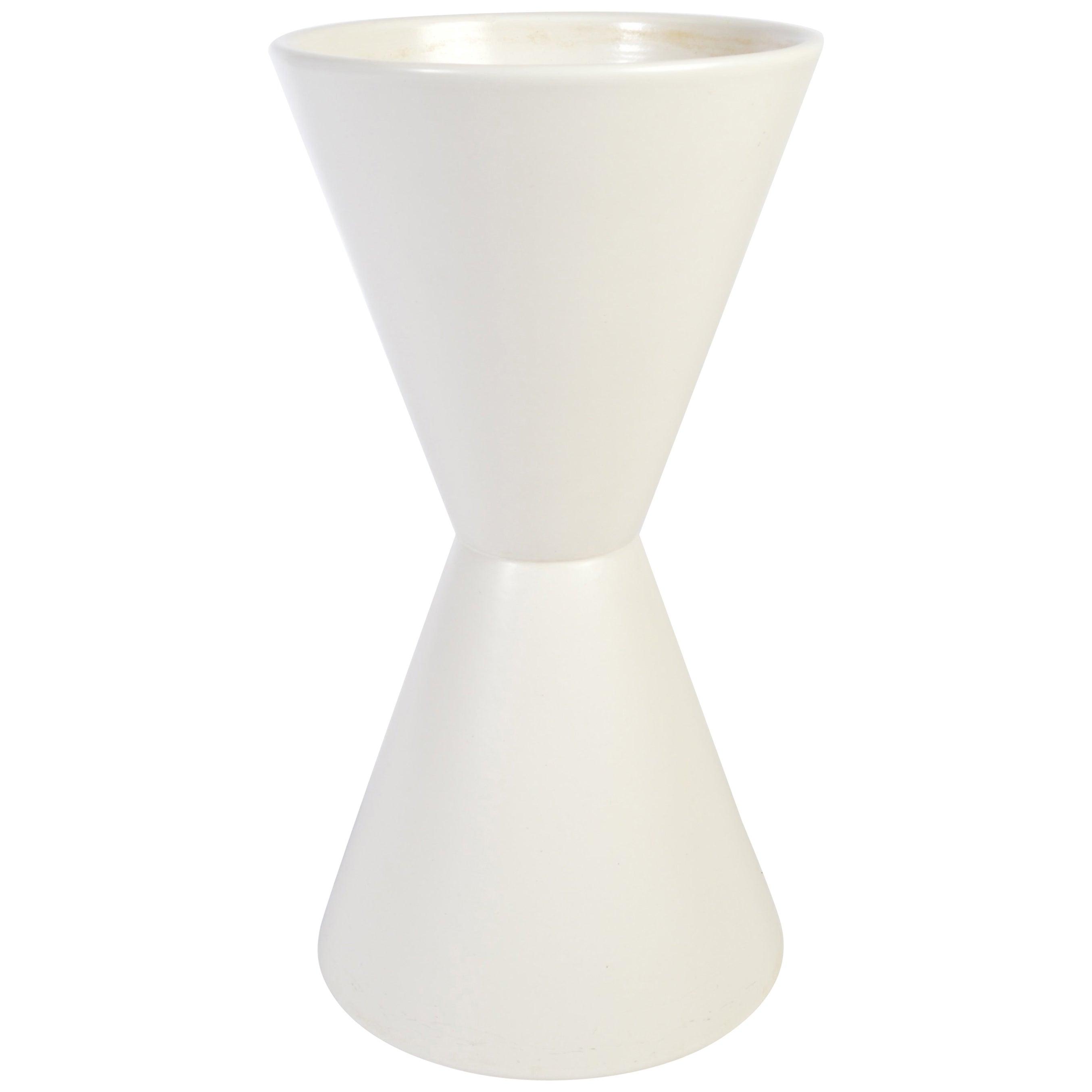 Lagardo Tackett for Architectural Pottery Double Cone Ceramic Pottery Planter