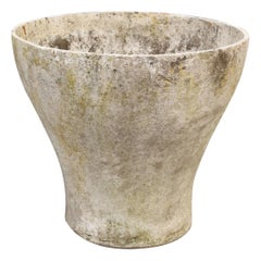 Goblet-Shaped Planter Attributed to Willy Guhl for Eternit, circa 1960s