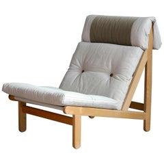 Danish 1960s Rag Chairs in Oak by Bernt Petersen for Chiang