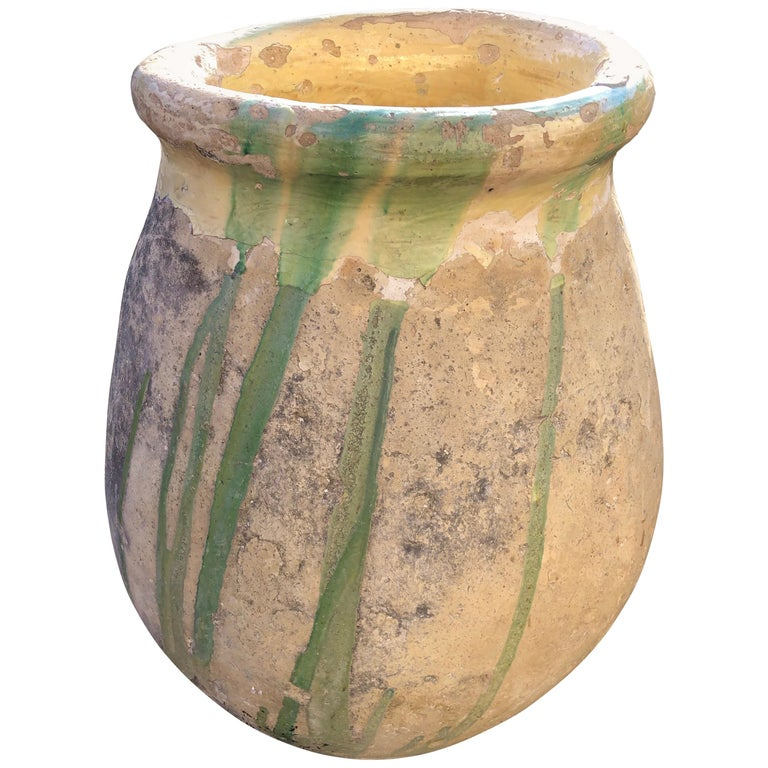 Early 19th Century Demi-Glazed French Biot Pot For Sale