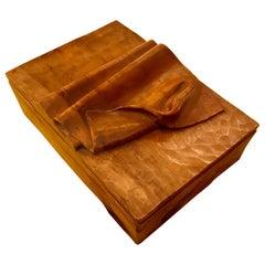 1970s Hand Craft Wood Box