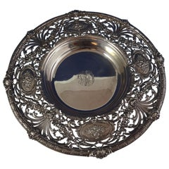 Redlich & Co. Sterling Silver Centerpiece Bowl Pierced #8388