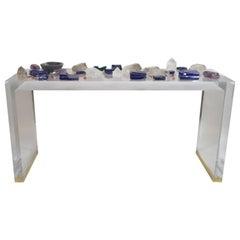 Console Table Brasilia Model Unique Piece by Studio Superego, Italy