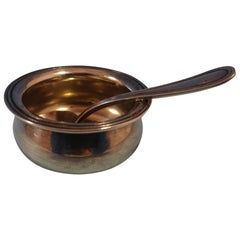 Commonwealth by Watson Sterling Silver Salt Dip with Spoon Set 2-piece