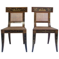Egyptian Revival Seating