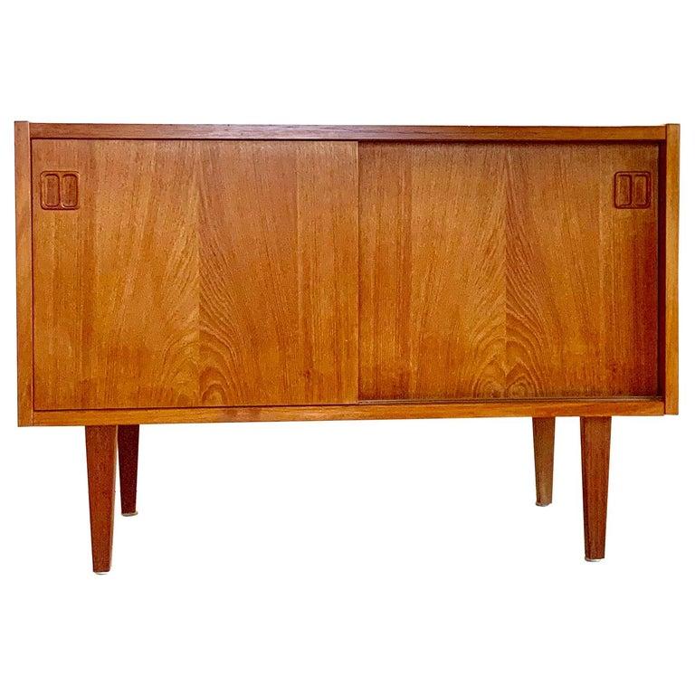 E.W Bach Danish Design Sideboard Teak For Sale