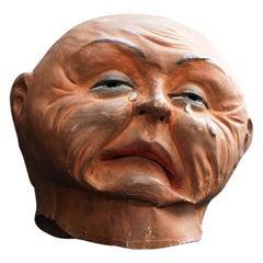 Rare Papier Mâché Theatre Mask