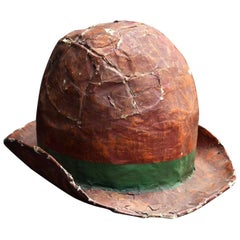 Huge Papier Mâché Hat