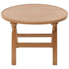 Danish Modern Cross Legged Table in European Beech