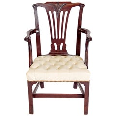 Late 18th Century Chippendale Mahogany Armchair