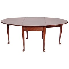 George II Mahogany Dining Table with Spanish Feet