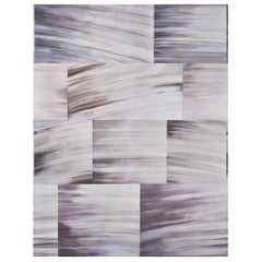 Schumacher David Kaihoi Blocks Geometric Natural Wallpaper Panel