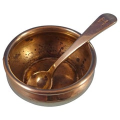 Covington by Gorham Sterling Silver Salt Dip with Spoon #A4070
