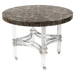 Charles Hollis Jones Custom Mica Table