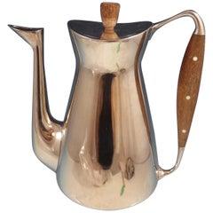 Michelsen Danish Sterling Silver Coffee Pot Modernism