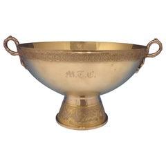 Japanese by Gorham Sterling Silver Centerpiece Bowl Pedestal with Birds