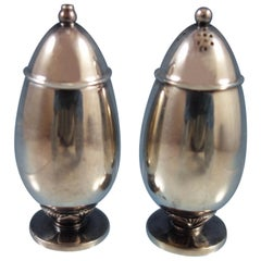Cactus by Georg Jensen Sterling Silver Salt and Pepper Shakers 2-Piece #629B