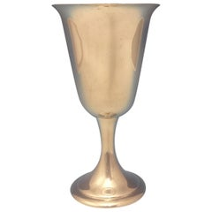 Alvin Sterling Silver Water Goblet