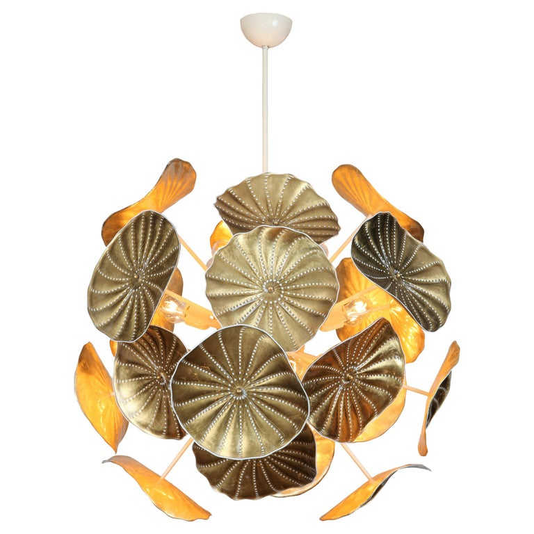 Charles Burnand Gallery Murano glass Urchin chandelier, new