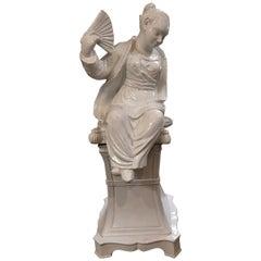 Italian Chinoiserie Statue