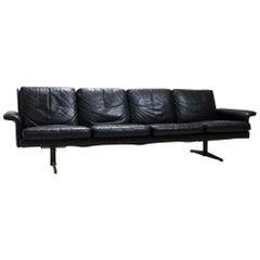 Midcentury Danish Leather 3-piece Lounge Suite by Komfort designed HW Klein 60s