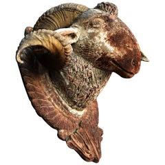 Rams Head, circa 1750