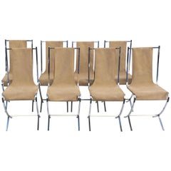 Set of 12 Maison Jansen Chair