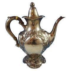 Les Cinq Fleurs by Reed and Barton Sterling Silver Coffee Pot 120 C