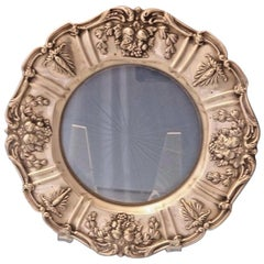 Francis I by Reed & Barton Old Sterling Silver Lemon Plate with Glass