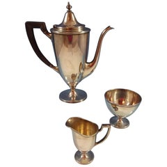 Windham by Tiffany and Co Sterling Silver 3-Piece Tea Set