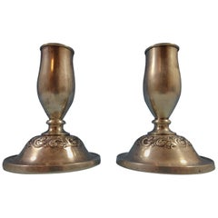 Old Master by Towle Sterling Silver Candlestick Pair #230