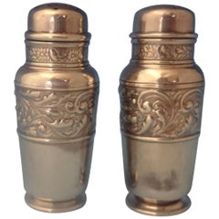 Saint Cloud by Gorham Sterling Silver Salt and Pepper Shakers 2-Piece