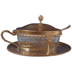 Saint Mark / San Marco by Zarmella Argenti .800 Silver Caviar Bowl