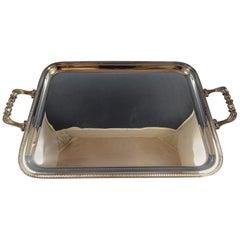 Impero by Zaramella Argenti Sterling Silver Serving / Tea Tray