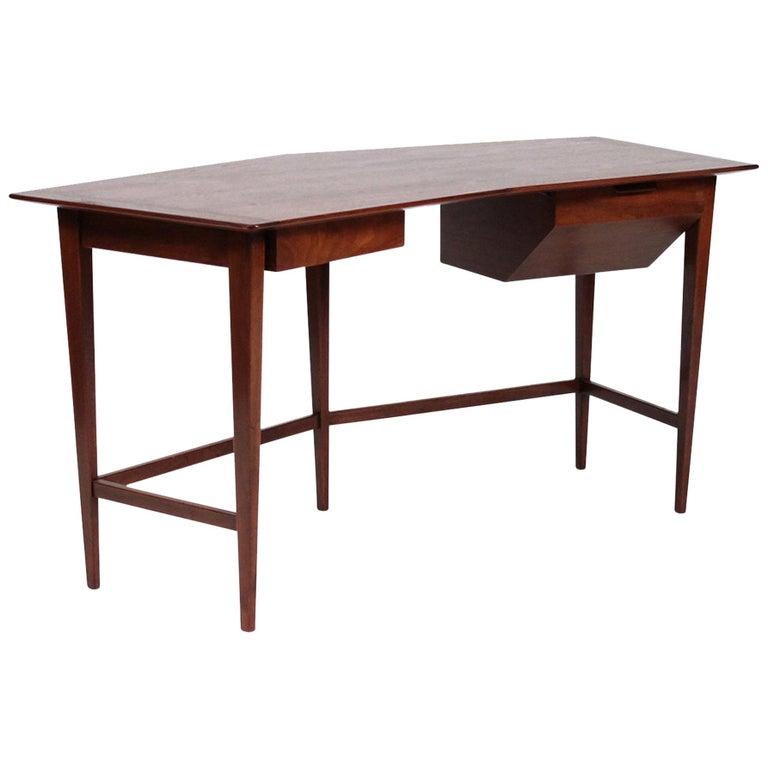 Rare Edward Wormley for Dunbar Desk For Sale