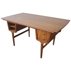 C.A. Skov Teak Partner Desk, Conference Table or Dining Table