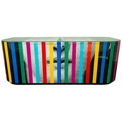 Fornasetti Face and Stripes Buffet