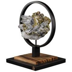 Studio Greytak 'Ouroboros 11' Bronze, Quartz, Sphalerite, and Chalcopyrite