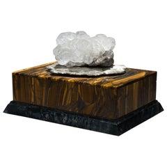 Studio Greytak 'Bling Box 6' Fluorite, Pyrite Sun, Amber, Topaz and Meteorite