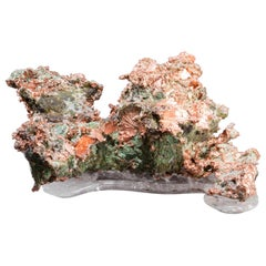 Studio Greytak 'Native Copper on Crystal Base' Copper and Clear Quartz