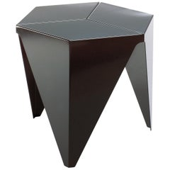 Vitra Prismatic Table in Black by Isamu Noguchi