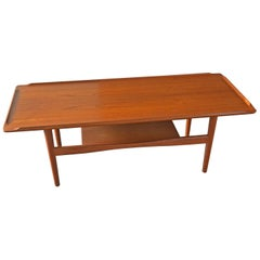 Teak Coffee Table Produced by IMHA in the 1960s, Germany