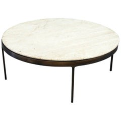 Modern Marble-Top Coffee Table