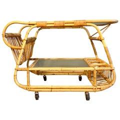 Danish Vintage Bar Cart, 1930s