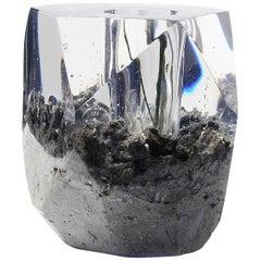 """Einzigartige Contemporary """"In Verkleidung"""" Vase von Jule Katzen, Modell """"Rock"""""""