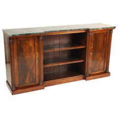 English Regency Rosewood Bookcase